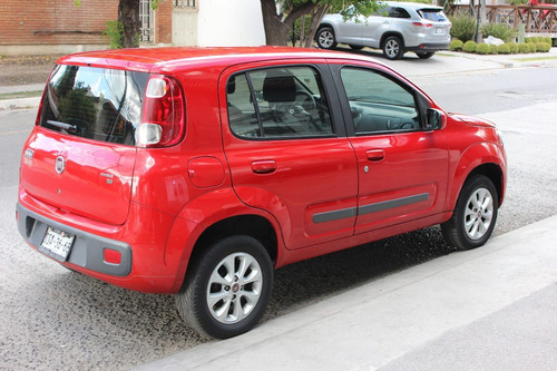 fiat uno 2013 vivace color rojo 105km excelentes condiciones