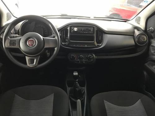 fiat uno attractive 1.0 2017 - controle de som no volante
