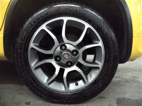 fiat uno sporting 1.4 flex 4pts 2013 completo + rodas + mp3!