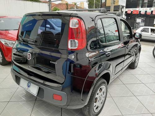 fiat uno vivace 1.0 4p 2011 completo- ar  preta