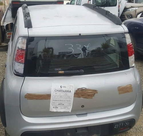 fiat uno way chocado en desarme