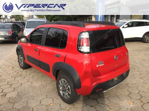 fiat uno way full 1.4 2017 impecable!