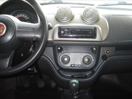 fiat uno way motor 1.0 2011 cinza