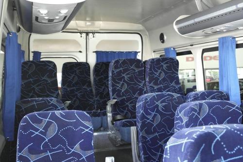 fiat van ducato 6 vel tdi 4 cil 17 pasajeros dvd 2017