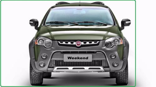 fiat weekend adventure xtreme 1.6 16v 2017 locker  cero km u