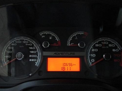 fiat/idea adventure 1.8 mecânica, apenas 10 mil km, raridade