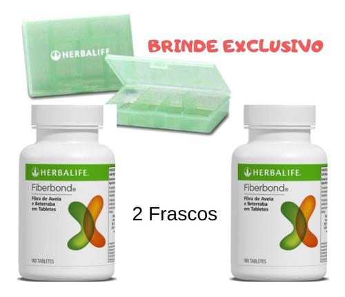 fiber bond - herbalife - 2 unid.  original + 1 ano validade