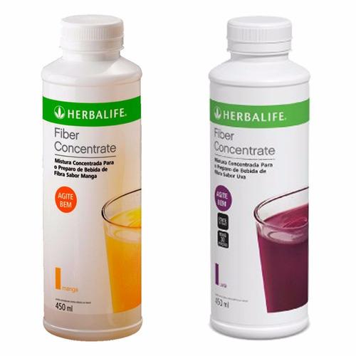 fiber concentrate herbalife manga / uva fibra líquida 450ml