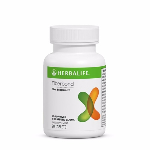 fiberbond herbalife 180 tabletes - pronta entrega