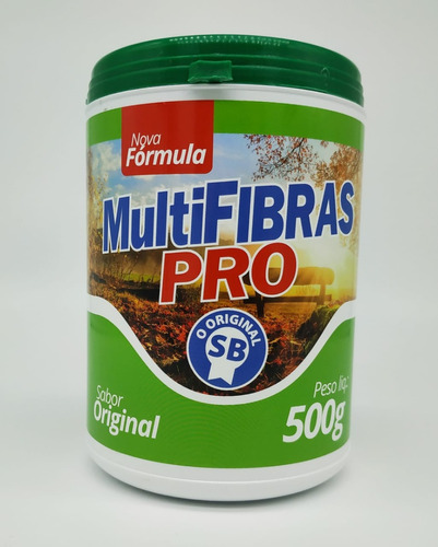 fibra alimentar multifibras pro 500g regulador intestinal