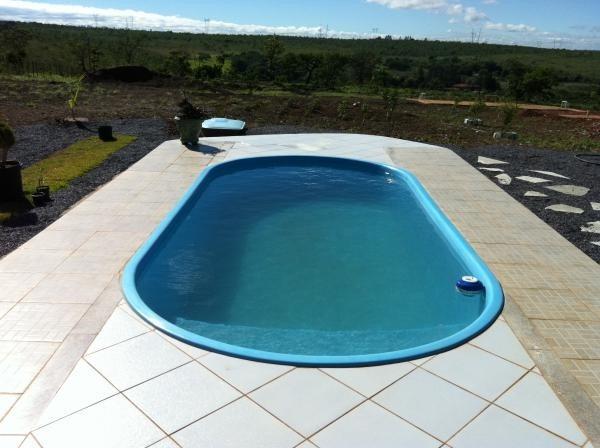 piscina de fibra 6x3 inst casa de maq completa em brasilia