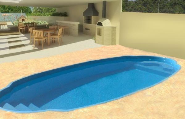 Piscina de fibra 8x4 inst casa de maq completa em brasilia for Piscina in casa