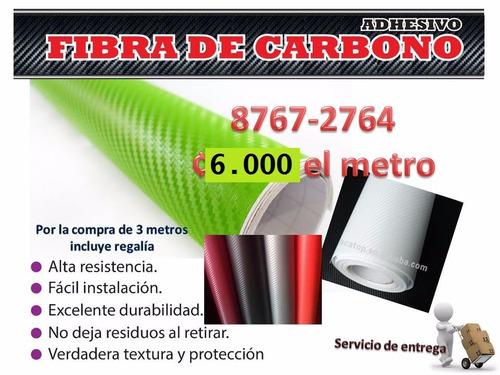 fibra de carbono se regala 1 metro de smoken o cinta reflec