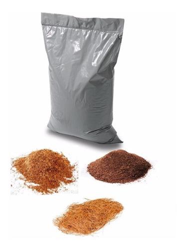 fibra de coco 150 lts 30/70 mezcla mediana