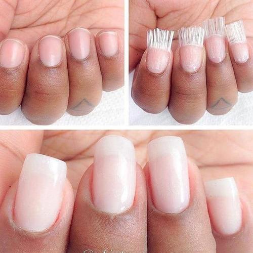 fibra de vidrio para uñas