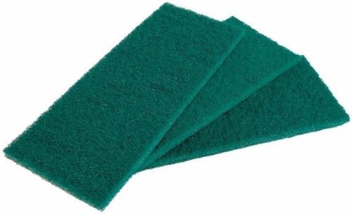 fibra limpeza geral verde com 30 unidades