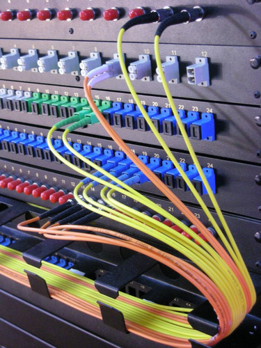 fibra óptica   empalmes por fusión y mediciones con otdr
