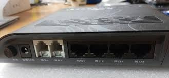fibra óptica fiberhome onu gpon an5506-04 s/caixa novo