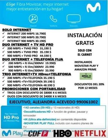 fibra óptica internet cable movistar