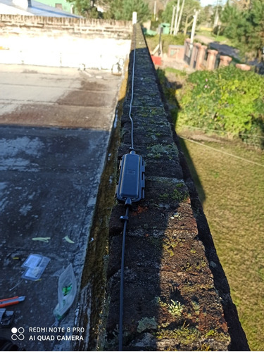 fibra optica reparación reubicación. cable de red [utp]
