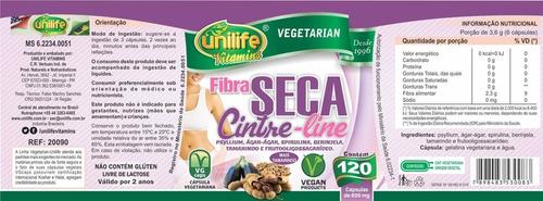 fibra seca cintre - line 60 cáps unilife