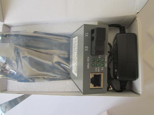 fibras ópticas-convertidor de medios 10/100/1000-ge sm 20km