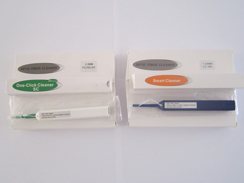 fibras ópticas lápiz para limpieza de conectores lc-sc-fc-st