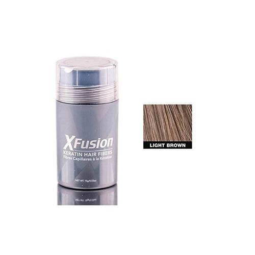fibras para cabello con queratina de tamaño regular xfusion