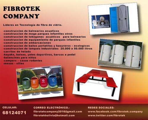 fibrotek company - expertos en fibra de vidrio