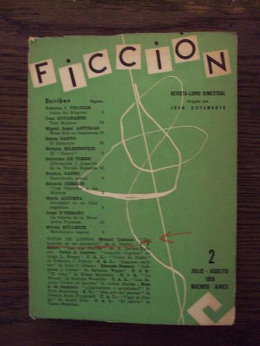 ficción. revista-libro bimestral - vv. aa. - goyanarte