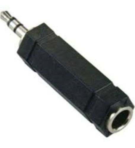 ficha adap mini plug 3.5 m a plug jack 6.5 h titan belgrano