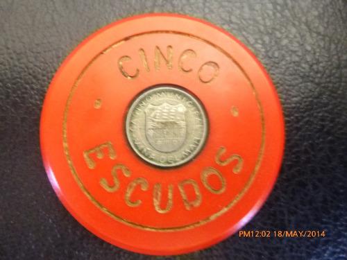 ficha casino de viña del mar 5 escudos (780z