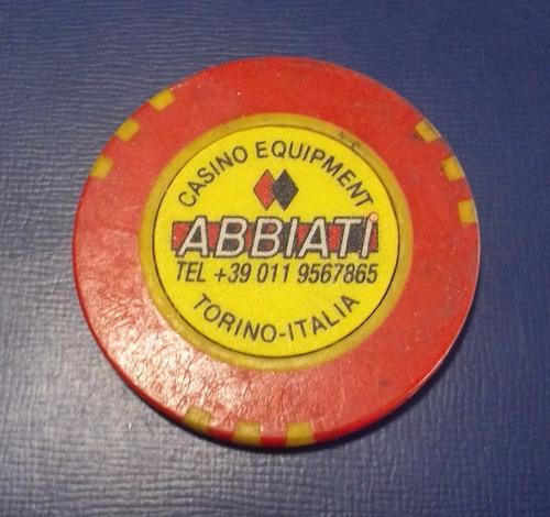 ficha de casino - abbiati fabricante de de fichas