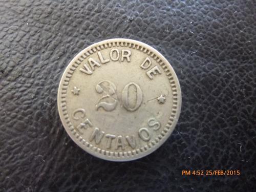 ficha de maquinas argentina catllo aitro 184 - 20 centavos