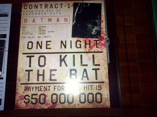ficha delictiva asesinos  batman arkham origins origenes