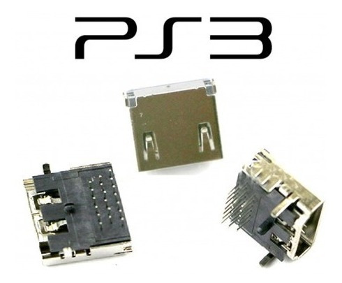 ficha puerto conector hdmi playstation 3 ps3 slim