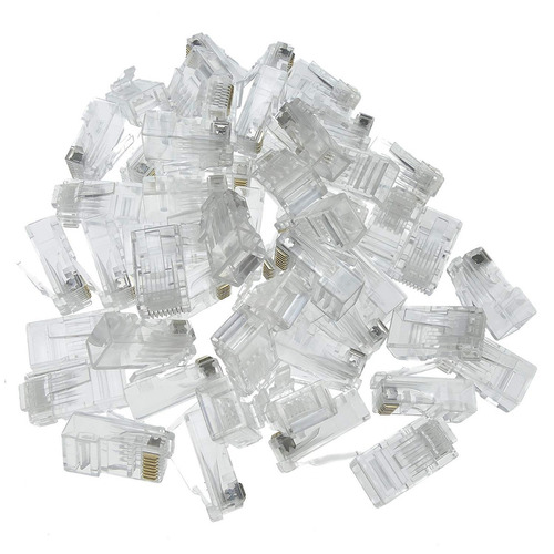 ficha rj45 conector red cable utp ethernet lan wan etc cat5