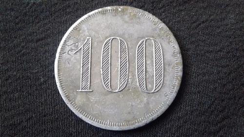 ficha salitrera cala cala con la firma mimbella 100 (c p )