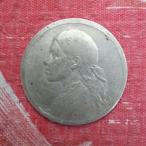 ficha salitrera de $1 oficina cala - cala año 1916
