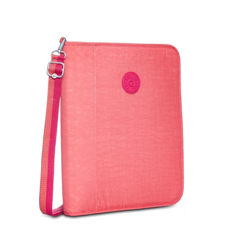 857851376 Fichário Kipling New Storer Galaxy Rosa - R$ 399,00 em Mercado Livre
