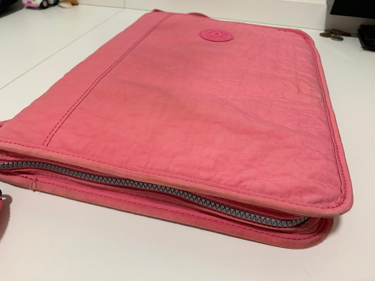 fbd0948bc fichário kipling new storer rosa kind rosa em ótimo estado. Carregando zoom.