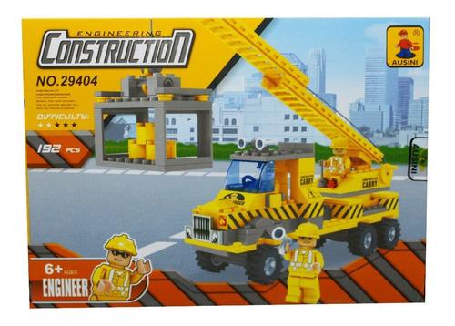 fichas auto construcción en bloques 192 piezas 29404