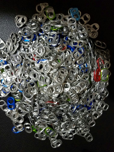 fichas de alumimio - aro de latas de aluminio 250g