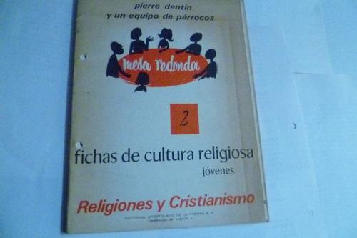 fichas de cultura religiosa - jovenes