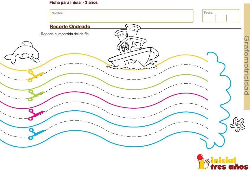 Fichas De Grafomotricidad Para Imprimir Para Niños De 3 Años - $ 199 ...