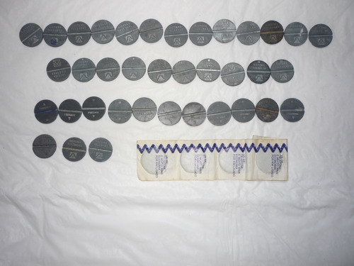 fichas de orelhão lote
