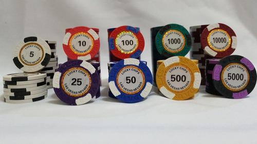 fichas de poker profesionales!