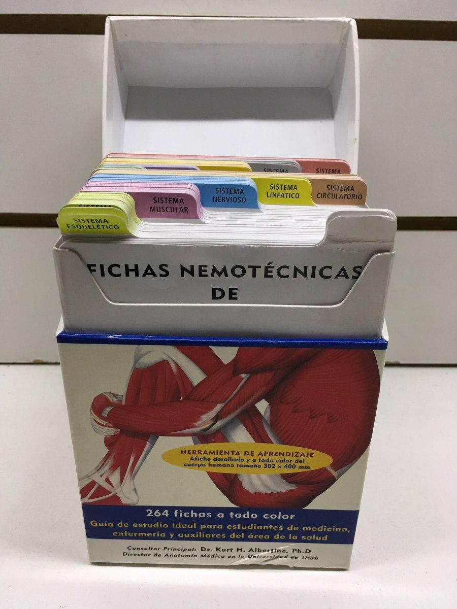 Fichas Nemotecnicas De Anatomia Envio Gratis Caba - $ 799,90 en ...