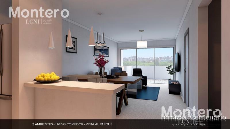 fideicomiso al costo frente al parque centenario, 2 ambientes c/ balcón, amenities, 6° 607