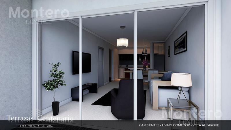 fideicomiso al costo frente al parque centenario, 3 ambientes c/ balcón terraza, amenities 11° 1101